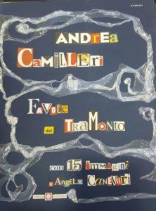 Copertina di Favole del tramonto di Camilleri favole politiche