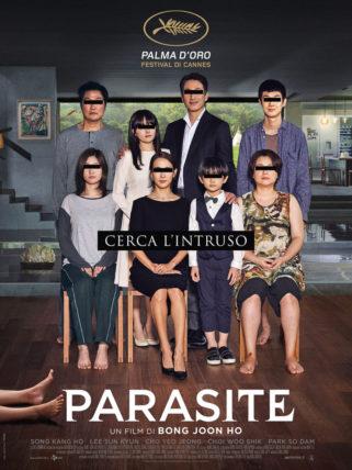 Poster italiano del film Parasite