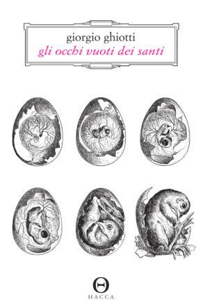 copertina di Gli occhi vuoti dei santi di Giorgio Ghiotti