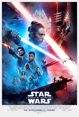 Poster italiano di Star Wars L'ascesa di Skywalker su Flanerí