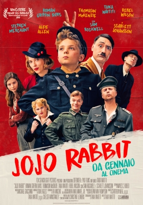 poster italiano di jojo rabbit