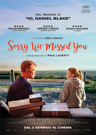 sorry we missed you poster italiano su Flanerí