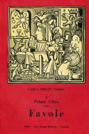 copertina di Il primo libro delle favole di Gadda