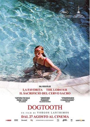 Dogtooth poster italiano su Flanerí