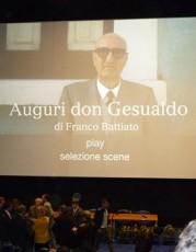 """""""Auguri don Gesualdo"""" di Franco Battiato"""