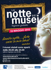 Notte dei Musei 2013 – 18 maggio