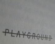 Playground: storie da schierare in campo