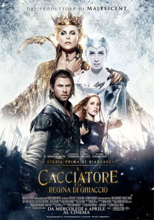 Il cacciatore e la regina di ghiaccio poster Flanerí