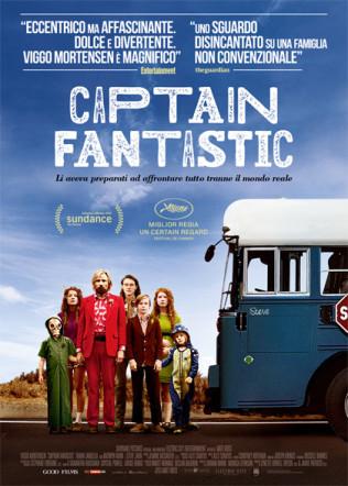 Poster italiano di Captain Fantastic su Flanerí