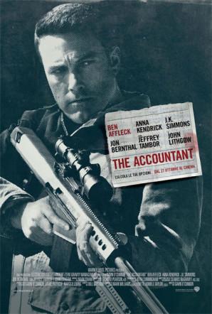 Poster italiano di The Accountant su Flanerí