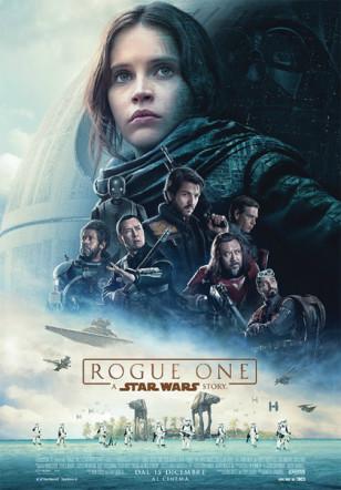 Poster italiano di Rogue One A Star Wars Story su Flanerí