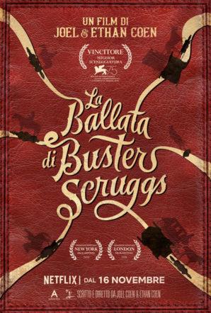 Poster di La ballata di buster scruggs su Flanerí
