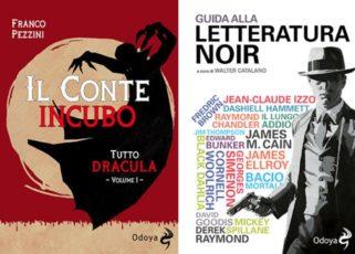 Copertine dei libri di Pezzini e Catalano pubblicati da Odoya