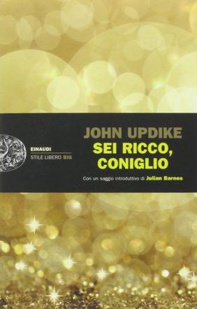 "copertina di ""sei ricco, coniglio"" di John Updike"