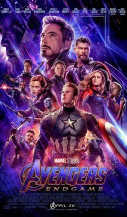 Poster di Avengers: Endgame su Flanerí