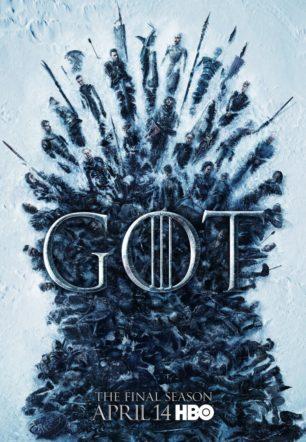 Poster dell'ottava stagione di Il trono di spade