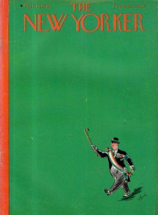 Copertina del New Yorker con Laughing Man di Salinger