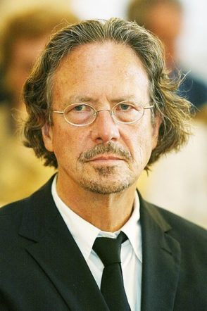 Fotografia di Peter Handke Premio Nobel
