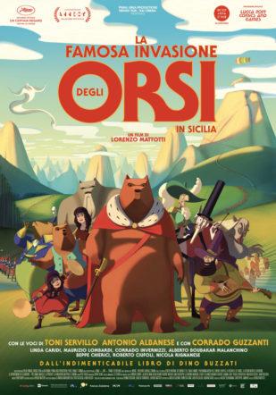 Poster del film La famosa invasione degli orsi in Sicilia su Flanerí