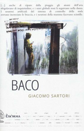 Copertina di Baco di Giacomo Sartori