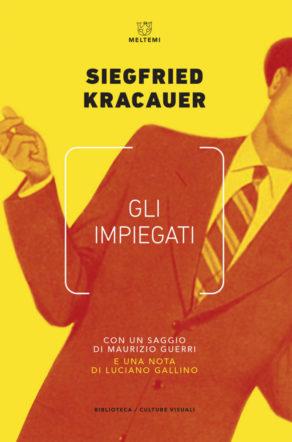 copertina di Gli impiegati di Kracauer