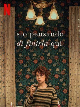 Sto pensando di finirla qui poster italiano