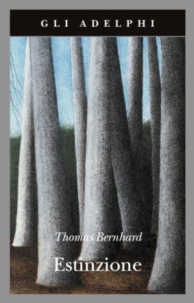 Copertina di Estinzione di Thomas Bernhard